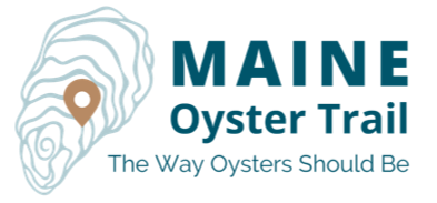 logo for the maine oyster trail