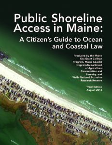 cover of new publication featuring aerial view of beach
