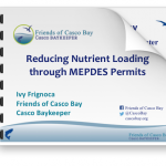 Frignoca presentation on Reducing Nutrient Loading through MEPDES Permits