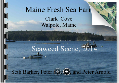 Cover slide for Maine Fresh Sea Farms presentation