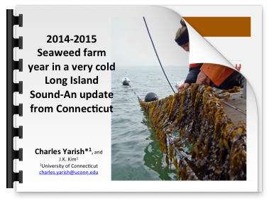 Cover slide for Seaweed farm long island sound presentation