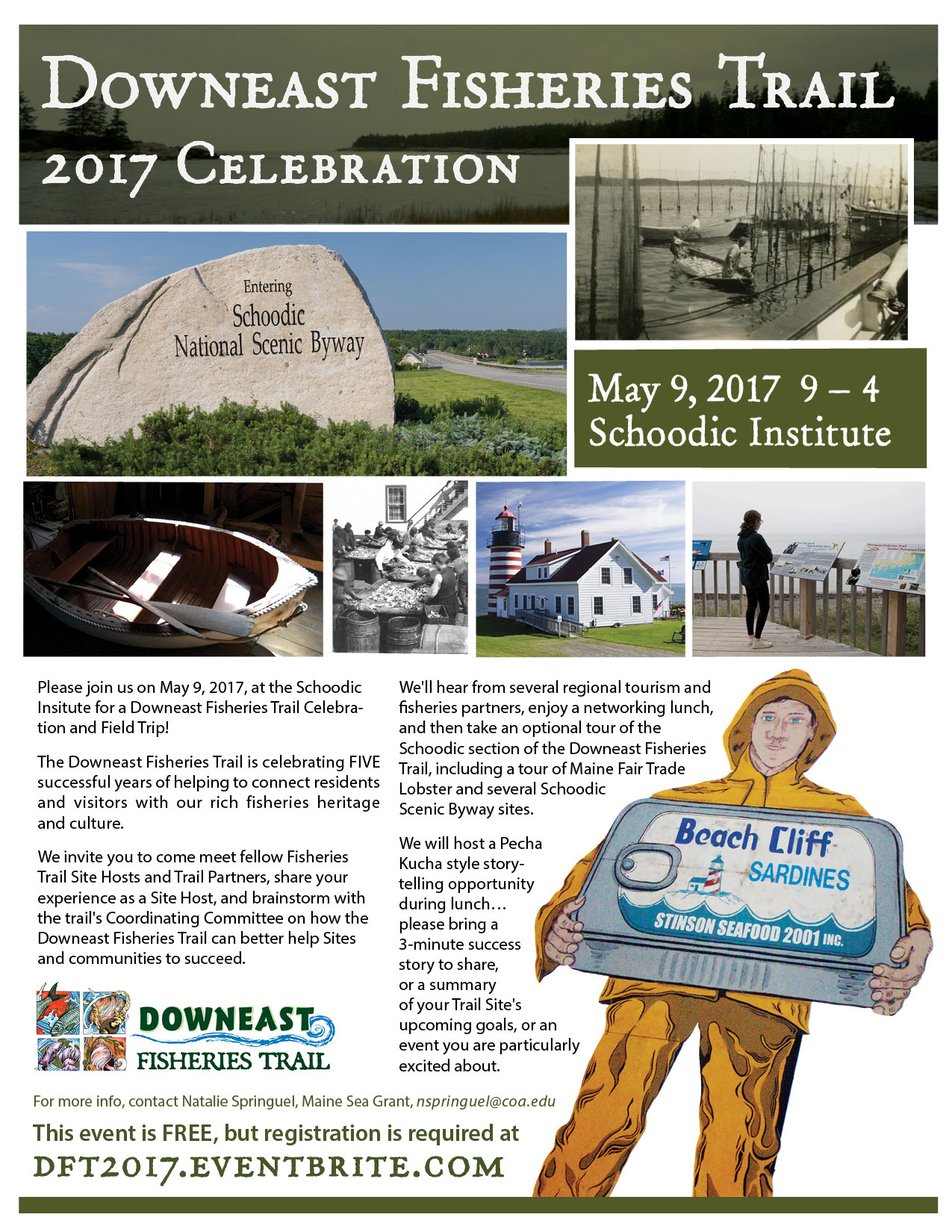 thumbnail of the downeast fisheries trail celebration flyer