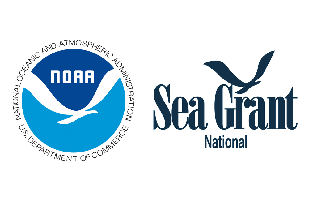 national sea grant and noaa logos