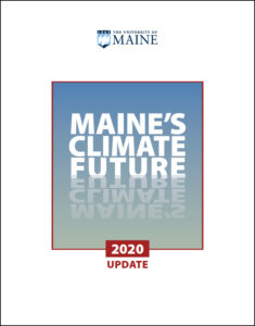cover of Maine's Climate Future 2020 update