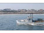 lobster boat sailing