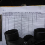Data sheet partially filled out.